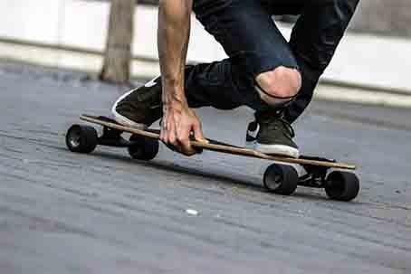 VW Bulli Bus Extras-Longboard Skateboard Board Fun Urban Bulli ab Stuttgart